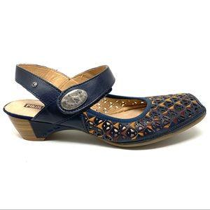 Pikolinos 849-5618 Gandia leather Mary Jane shoes